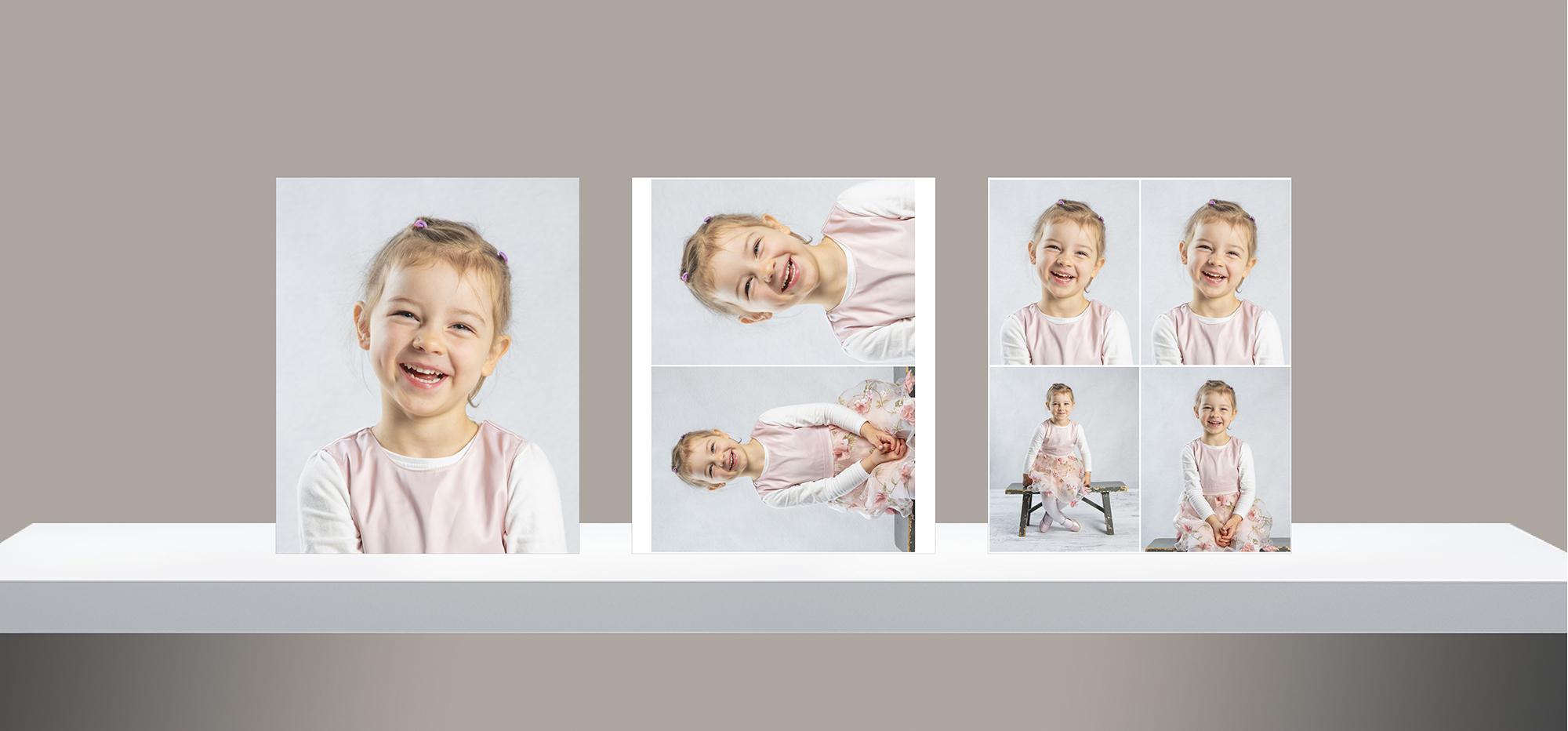 Liten portrettpakke barnehage