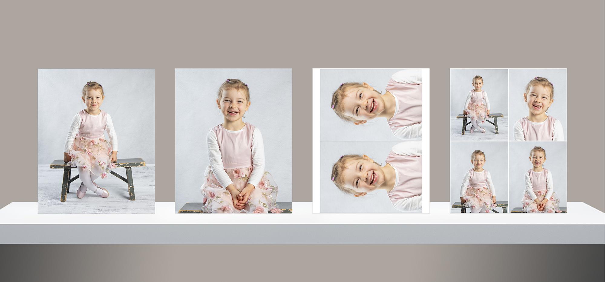 Stor portrettpakke barnehage