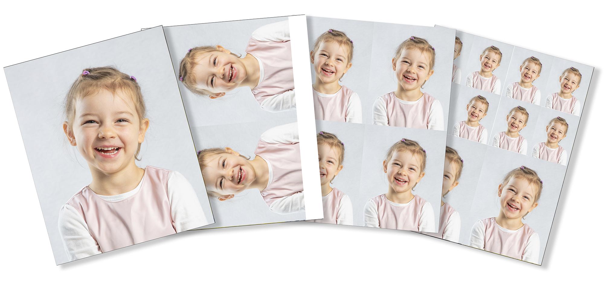 Portrettbilder barnehage