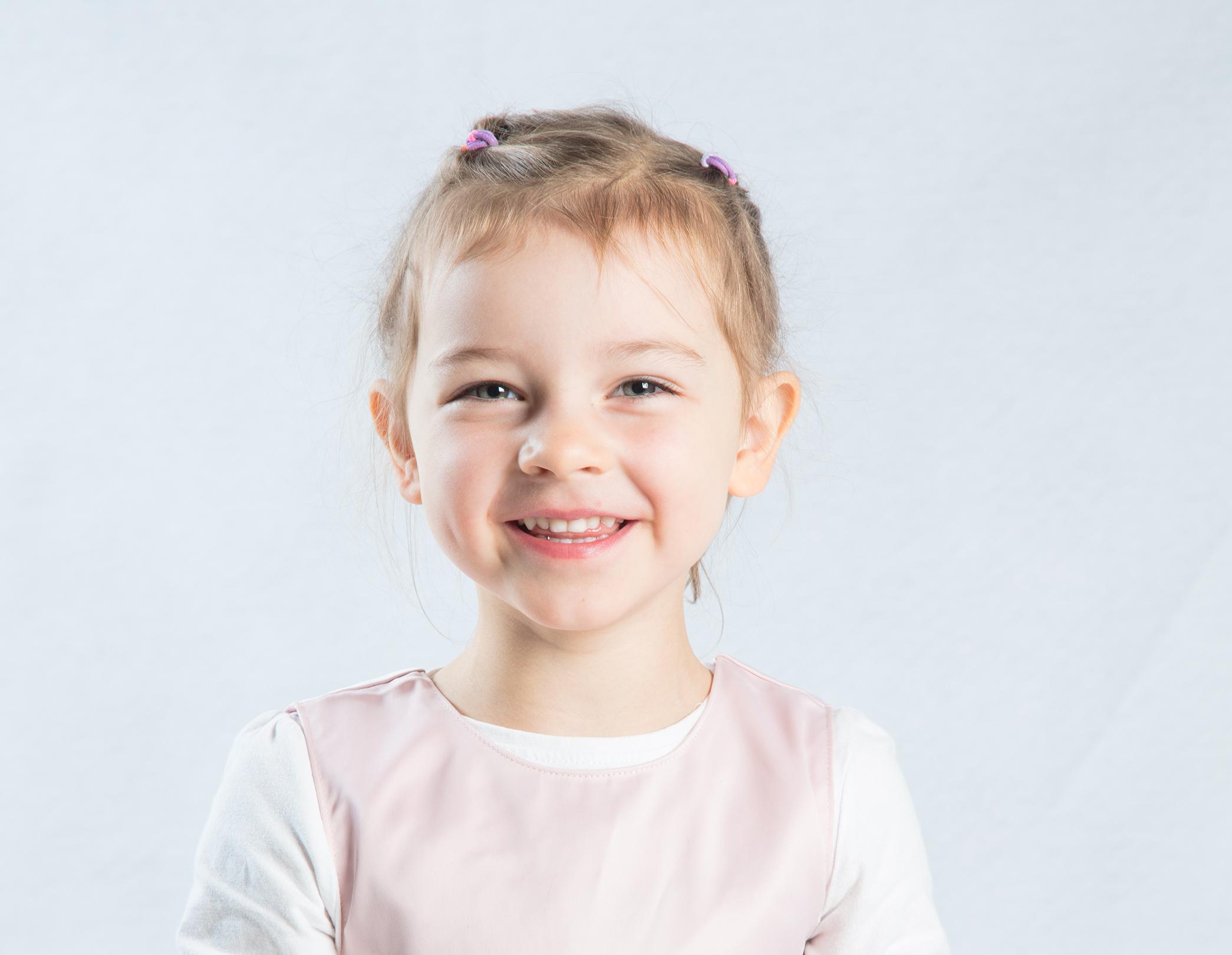 Portrett inne barnehage